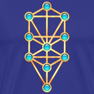 Sephiroth, Kabbalah, Tree of Life, Creation T-Shir - Herre premium T-shirt