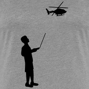 Remote-controlled model helicopter remote control T-Shirts - Women's Premium T-Shirt