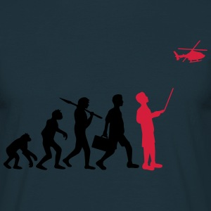Evolution remote controlled model helicopter T-Shirts - Men's T-Shirt