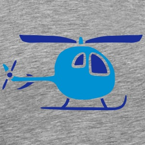 Comic Cartoon Kinder Heli Niedlich T-Shirts - Männer Premium T-Shirt
