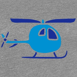 Comic Cartoon Kinder Heli Niedlich T-Shirts - Frauen Premium T-Shirt