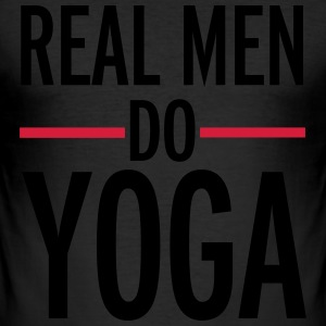 Yoga T-shirts - Herre Slim Fit T-Shirt