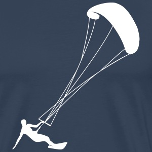 Kiting kite surfing T-Shirts - Men's Premium T-Shirt