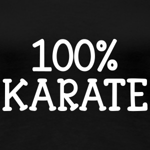 100% Karate T-Shirts - Frauen Premium T-Shirt