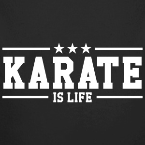 Karate is life Sweaters - Baby bio-rompertje met lange mouwen