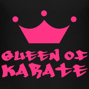 Queen of Karate T-Shirts - Kinder Premium T-Shirt