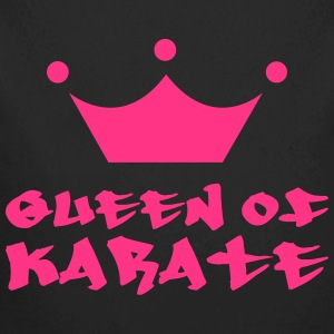 Queen of Karate Sudaderas - Body orgánico de manga larga para bebé