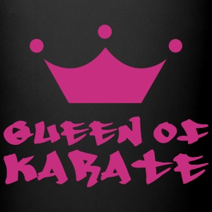 Queen of Karate Flasker & krus - Ensfarvet krus