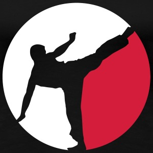 Karate T-Shirts - Frauen Premium T-Shirt
