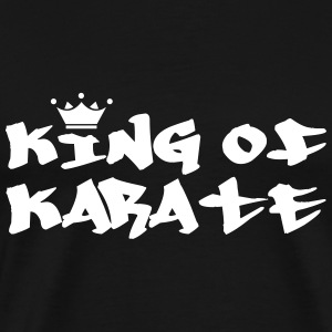 King of Karate T-shirts - Herre premium T-shirt