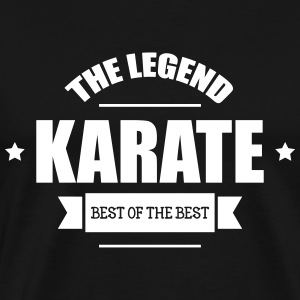 Karate The Legend T-Shirts - Männer Premium T-Shirt