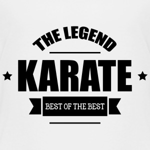 Karate The Legend T-shirts - Børne premium T-shirt