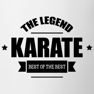 Karate The Legend Flasker & krus - Kop/krus