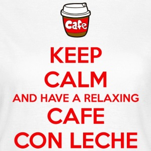 Relaxing cafe con leche T-Shirts - Women's T-Shirt