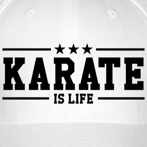 Karate is life Petten & Mutsen - Flexfit baseballcap