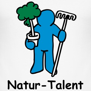 Natur-Talent - Männer Slim Fit T-Shirt
