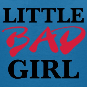 Little bad girl T-Shirts - Frauen T-Shirt mit V-Ausschnitt