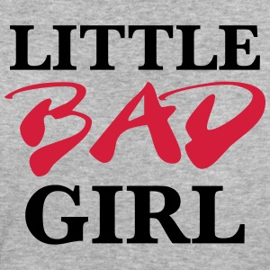 Little bad girl T-shirts - Vrouwen Bio-T-shirt