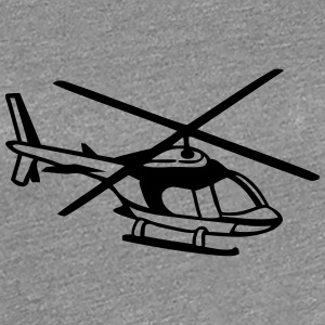 Helikopter T-shirts - Vrouwen Premium T-shirt