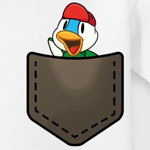 Duck in a pocket Shirts - Teenager T-shirt