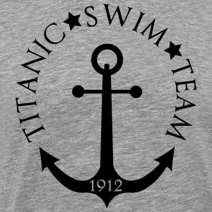Titanic Smin Team 1912 Anchor T-Shirts - Men's Premium T-Shirt