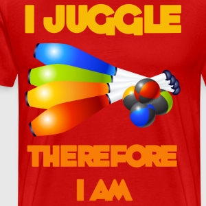 I Juggle - Men's Premium T-Shirt