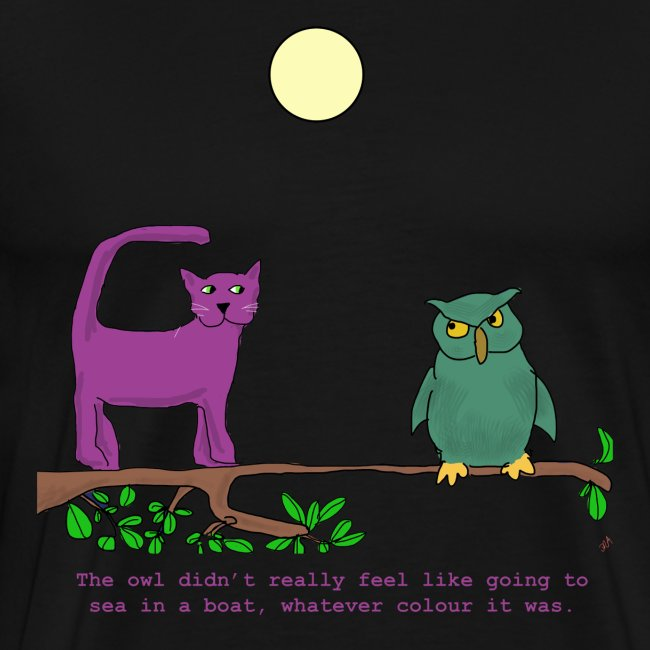 The Owl and the Purple Cat