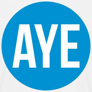 Scottish Referendum Aye T-Shirts - Men's T-Shirt
