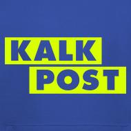 Motiv ~ Flexdruck neongelb Kalk Post Balken