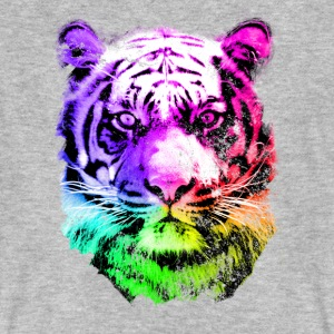 tiger - tigre - big cat - pshycho T-shirts - Mannen Bio-T-shirt