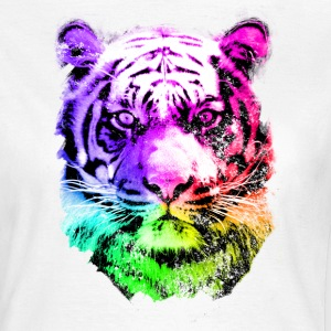 tiger - tigre - big cat - pshycho T-Shirts - Women's T-Shirt