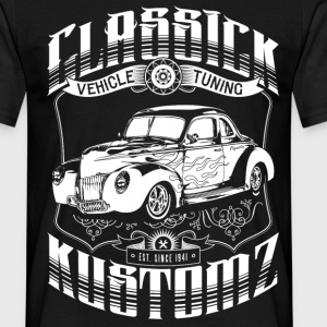 Hot Rod - Classick Kustomz (white) T-Shirts - T-skjorte for menn