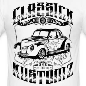 Hot Rod - Classick Kustomz (black) T-Shirts - Slim Fit T-shirt herr