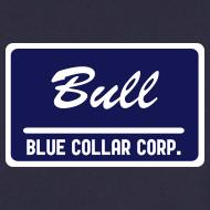 Motiv ~ Blue Collar Corp.: Bull (male) foliert