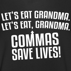 We eat Grandma T-shirts - Mannen T-shirt met V-hals