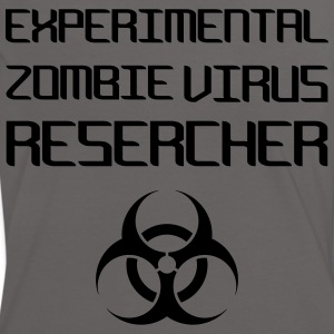 Experimental Zombie Virus Resercher T-Shirts - Women's Ringer T-Shirt