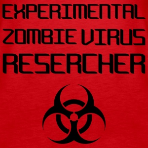 Experimental Zombie Virus Resercher Topper - Premium singlet for kvinner