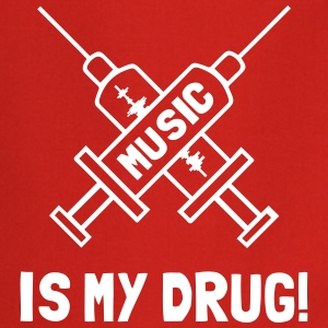 Music Is My Drug - Love Music Forklæder - Forklæde