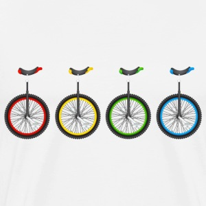 4 Unicycle - Men's Premium T-Shirt