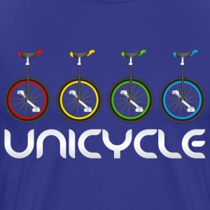 Unicycle logo - Men's Premium T-Shirt