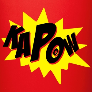 kapow Bottles & Mugs - Full Colour Mug