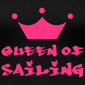Queen of Sailing T-Shirts - Frauen Premium T-Shirt