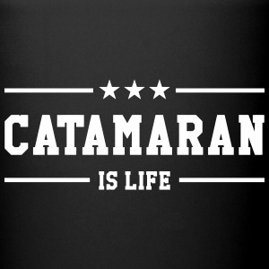 Catamaran is life Kopper & flasker - Ensfarget kopp