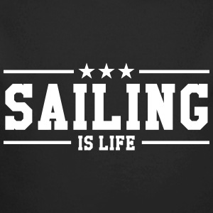 Sailing is life Hoodies - Longlseeve Baby Bodysuit