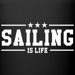 Sailing is life Kopper & flasker - Ensfarget kopp