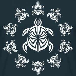 turtle_tribal - Männer T-Shirt