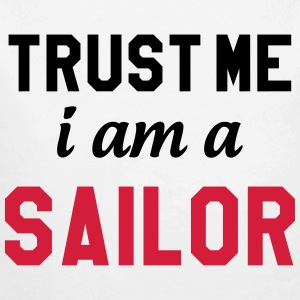 Trust me I am a Sailor Sweats - Body bébé bio manches longues