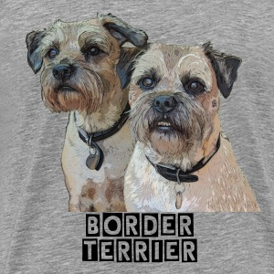 Border Terrier T-Shirt - Men's Premium T-Shirt