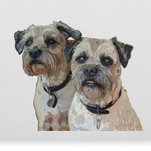 Border Terrier Tote Bag - Tote Bag