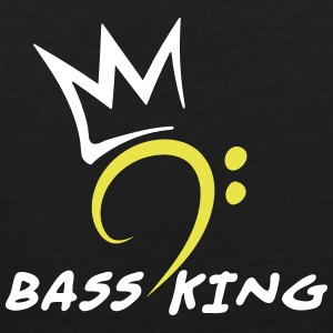 Bass King Tank Tops - Men's Premium Tank Top